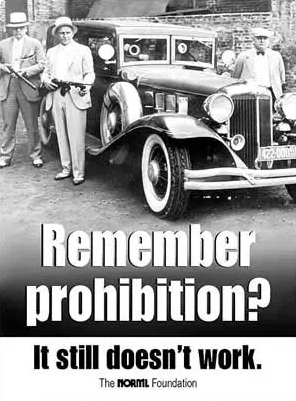 Prohibition still does not work